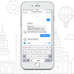 chatbot sluit een verzekering op risk