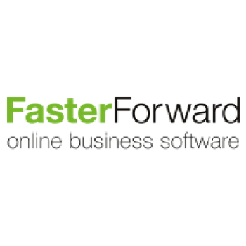 faster forward logo goed